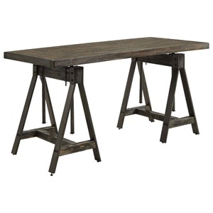 Industrial Adjustable Writing Desk