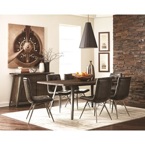 Industrial Dining Room Group