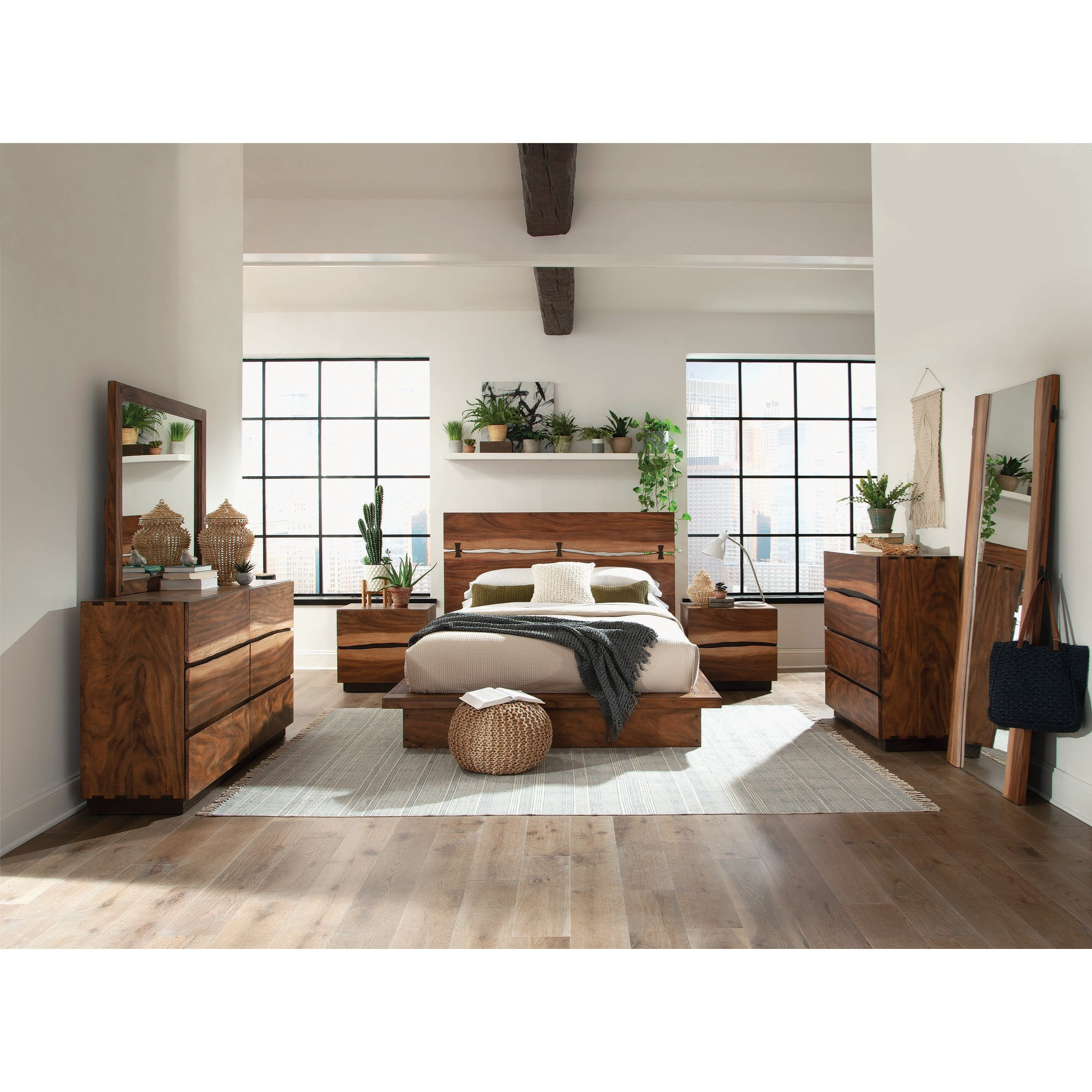 Winslow King Bedroom Group by Coaster at Rife's Home Furniture