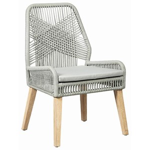 Side Chair with Cushioned Seat