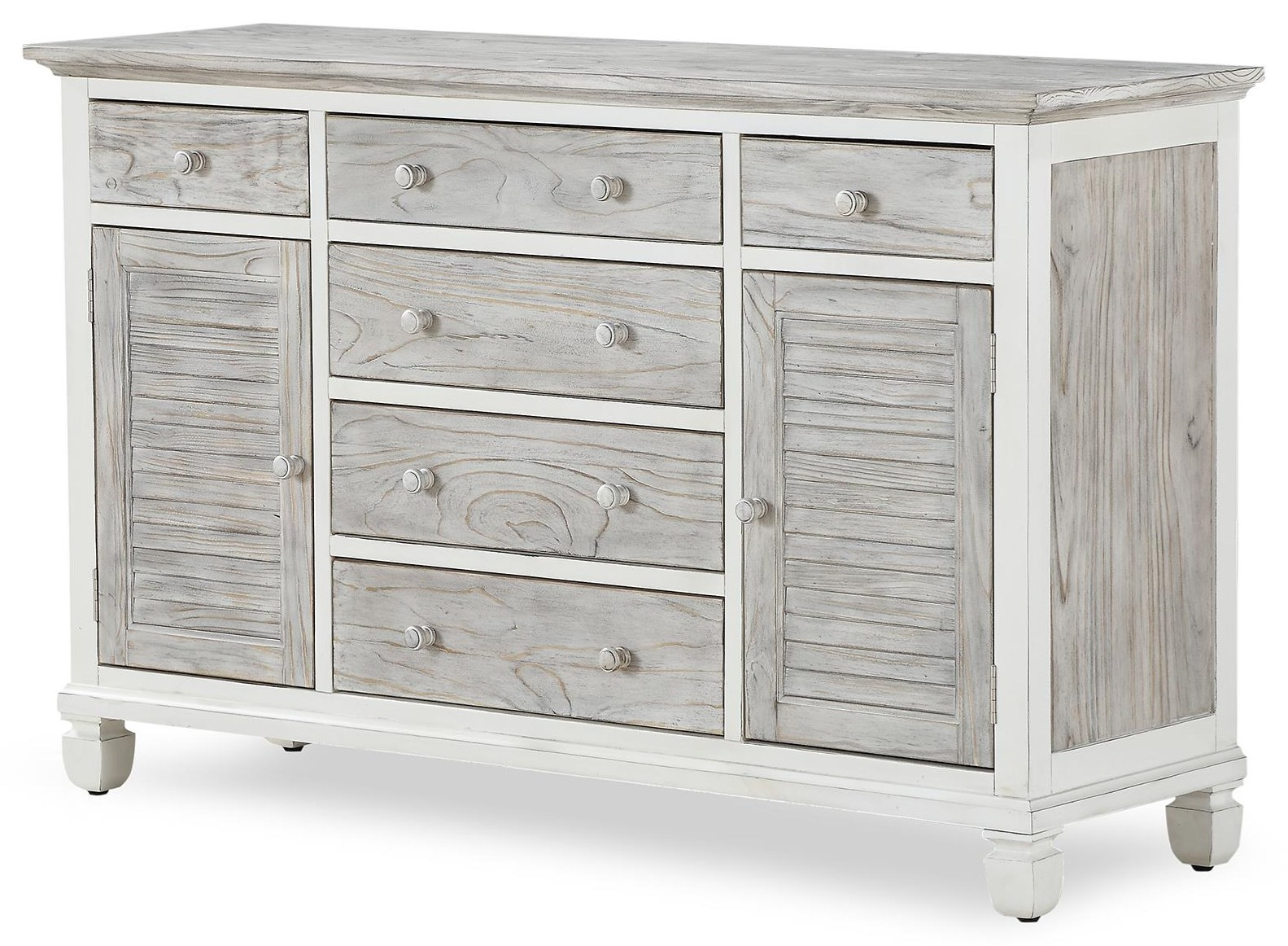 islamorada drawer/door dresser by Sea Winds Trading Company at Johnny Janosik