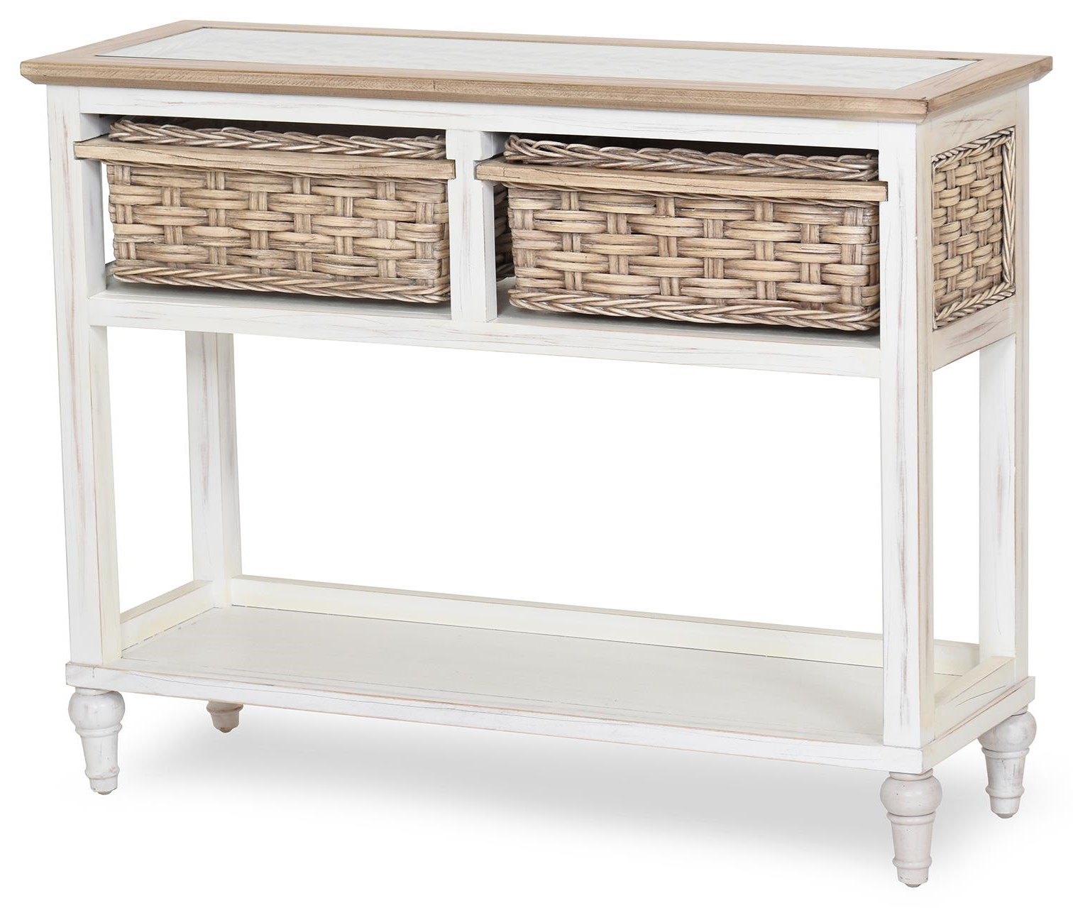 island breeze console table by Sea Winds Trading Company at Johnny Janosik