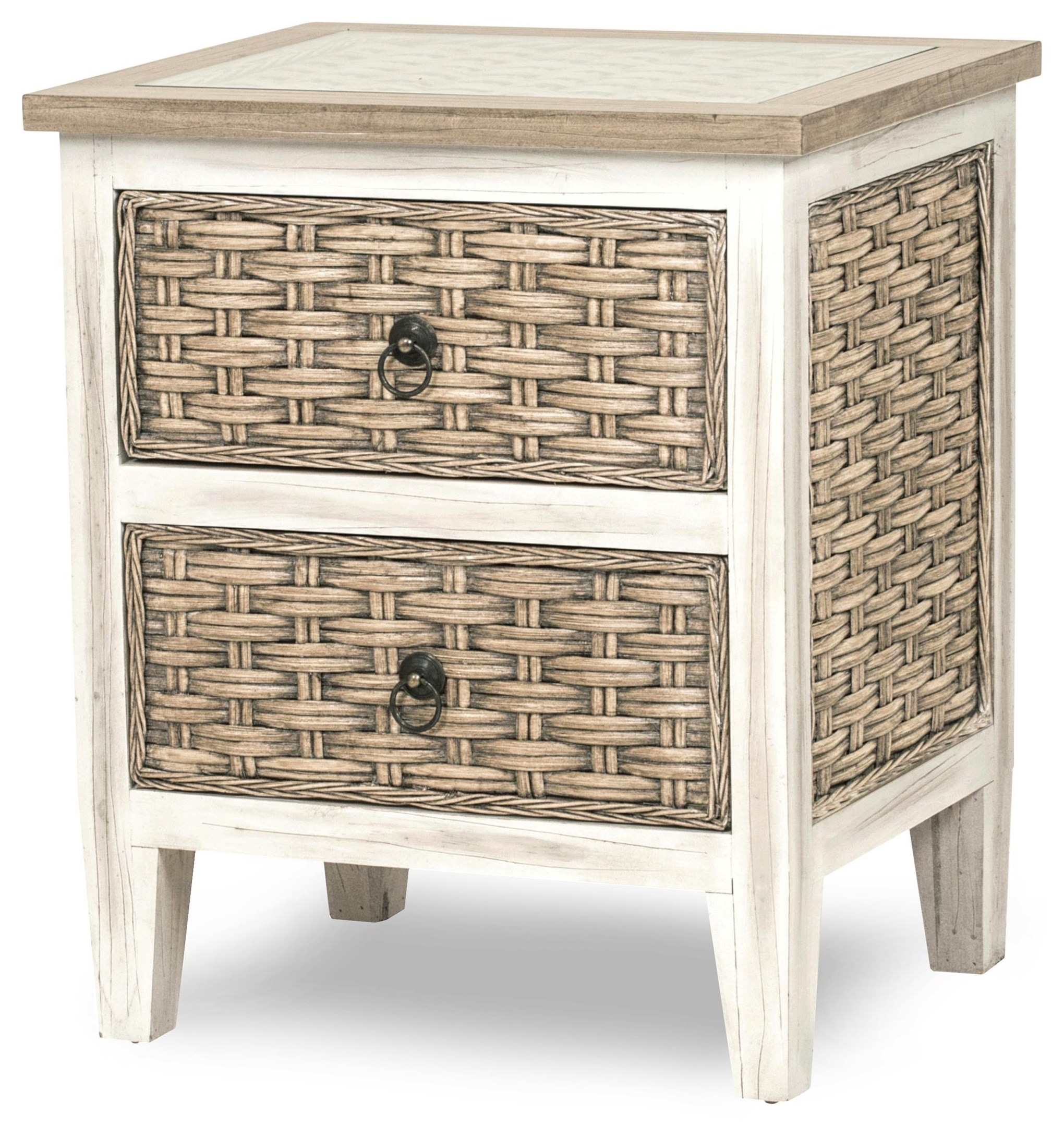 sea breeze nightstand by Sea Winds Trading Company at Johnny Janosik