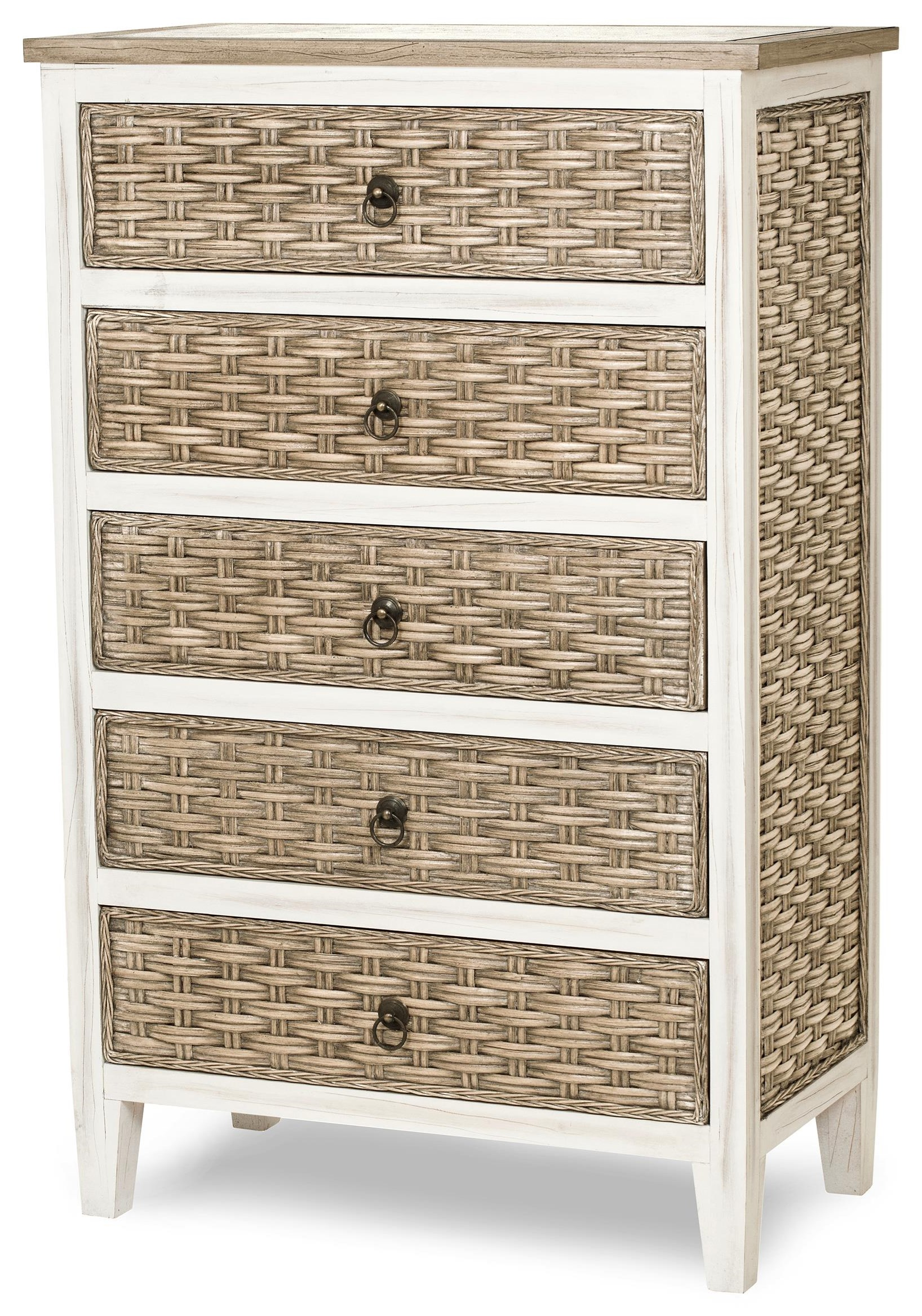 sea breeze five drawer chest by Sea Winds Trading Company at Johnny Janosik