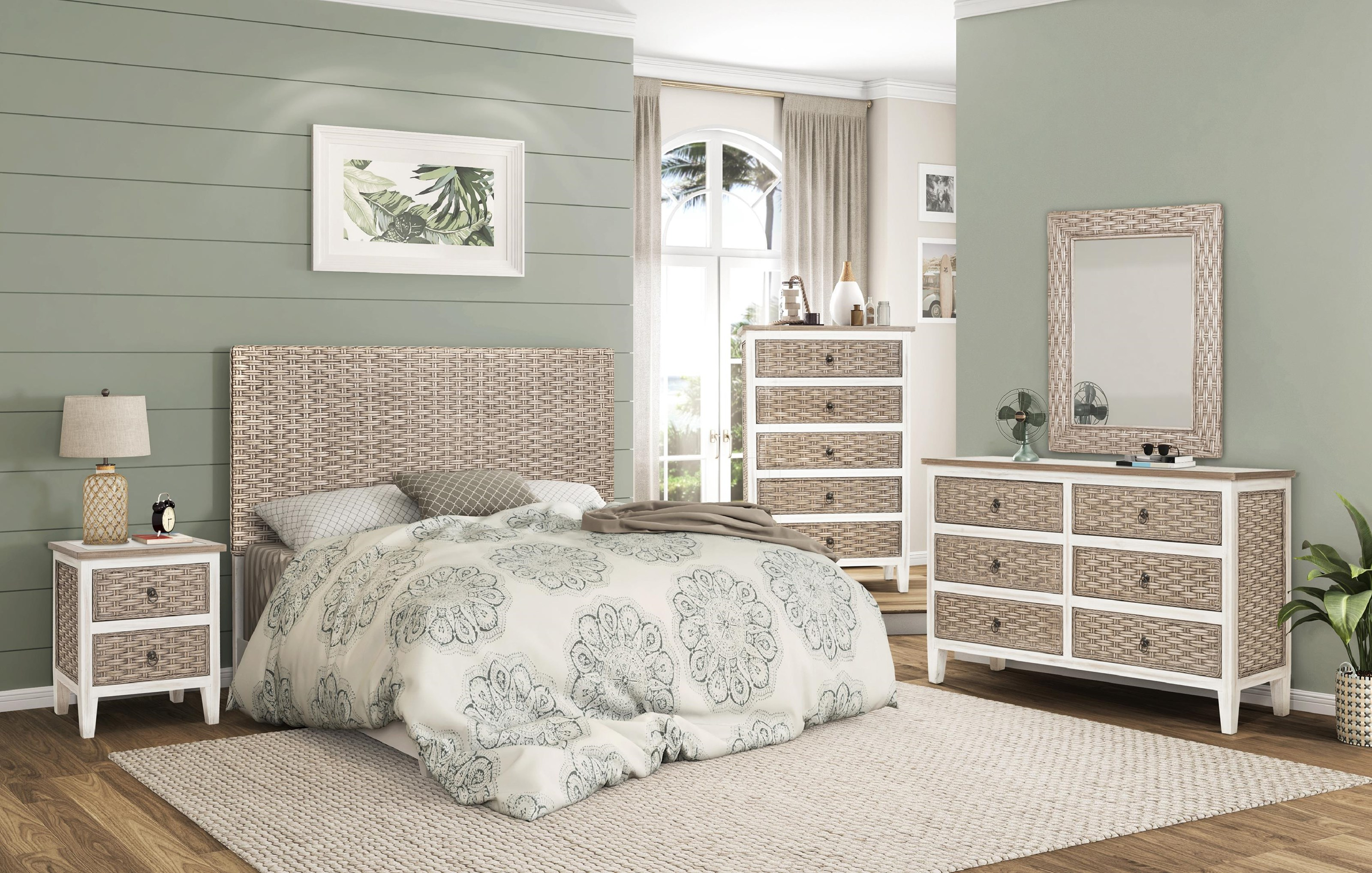 sea breeze King bedroom group by Sea Winds Trading Company at Johnny Janosik
