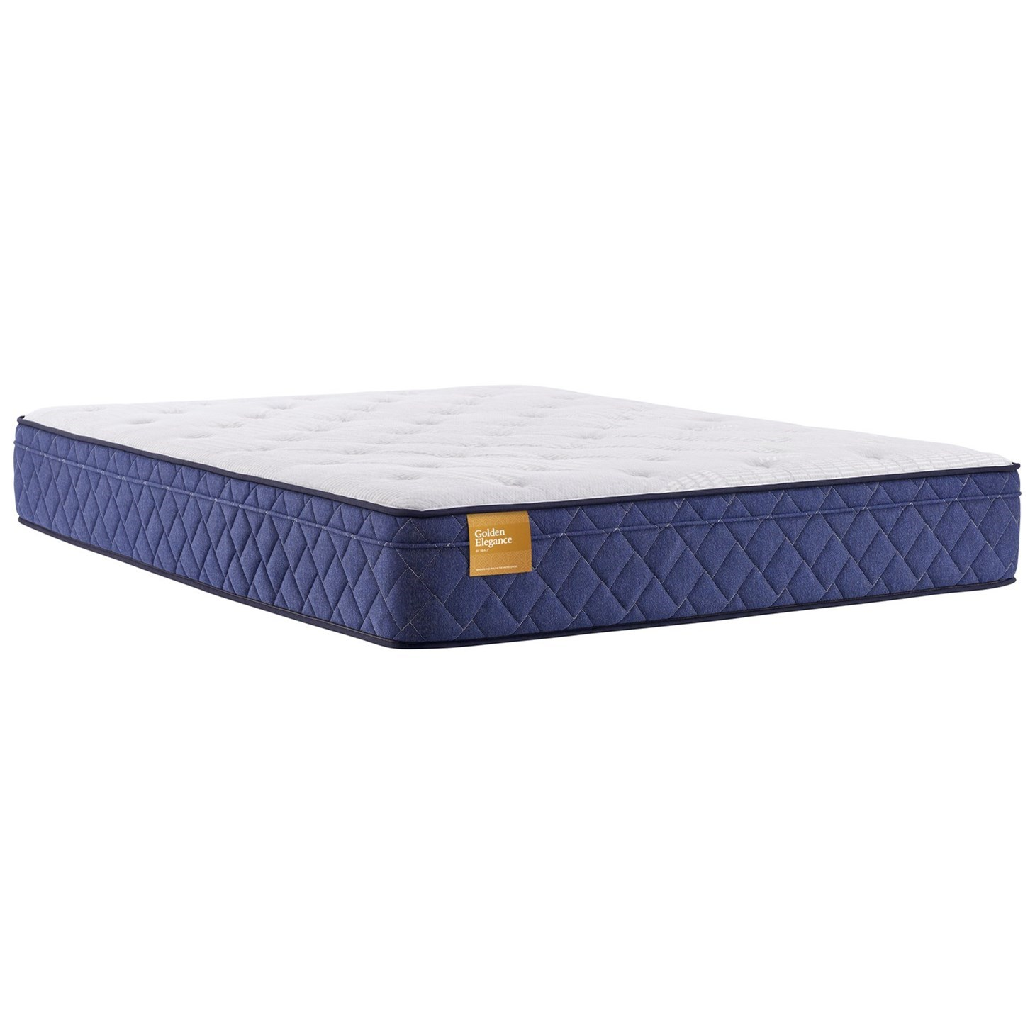 """Beauvior Plush ET B2 Queen 12"""" Plush Euro Top Mattress by Sealy at Beck's Furniture"""