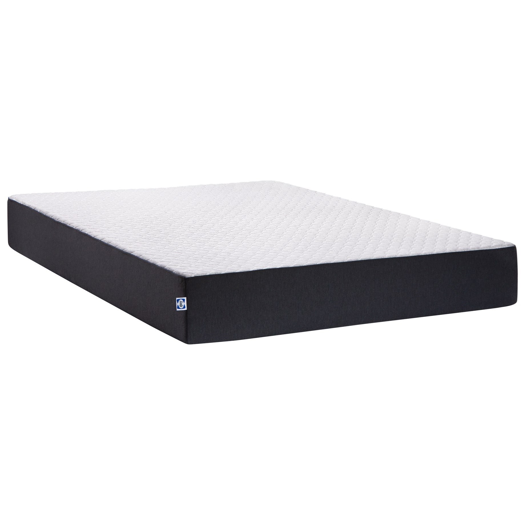 "Conform Essentials 10 BIB Twin 10"" Med Feel Memory Foam Mattress by Sealy at Novello Home Furnishings"