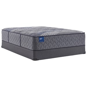 "Twin 15 1/2"" Plush Hybrid Tight Top Mattress and 5"" Low Profile Foundation"