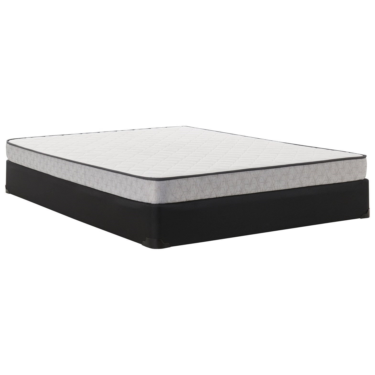 """Canonbury Firm TT Twin 5 1/2"""" Mattress Set by Sealy at Morris Home"""