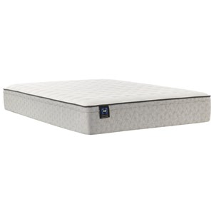 "Cal King 12"" Medium Faux Euro Top Mattress"