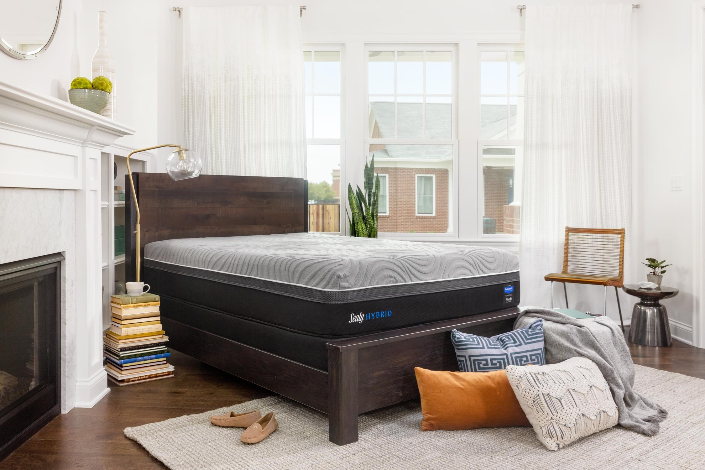 Sealy 2018 Queen Posturepedic Hybrid Kelburn II Cushion by Sealy at Johnny Janosik