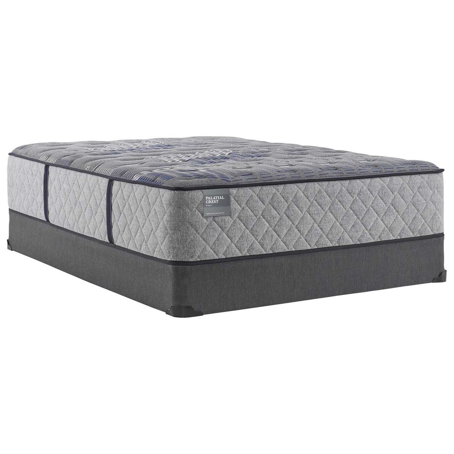 "Lordship Hybrid Firm TT B8 Full 15"" Firm Hybrid Mattress Set by Sealy at Westrich Furniture & Appliances"