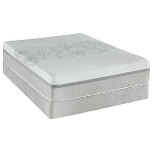Twin Ultra Plush Tight Top Mattress and Foundation