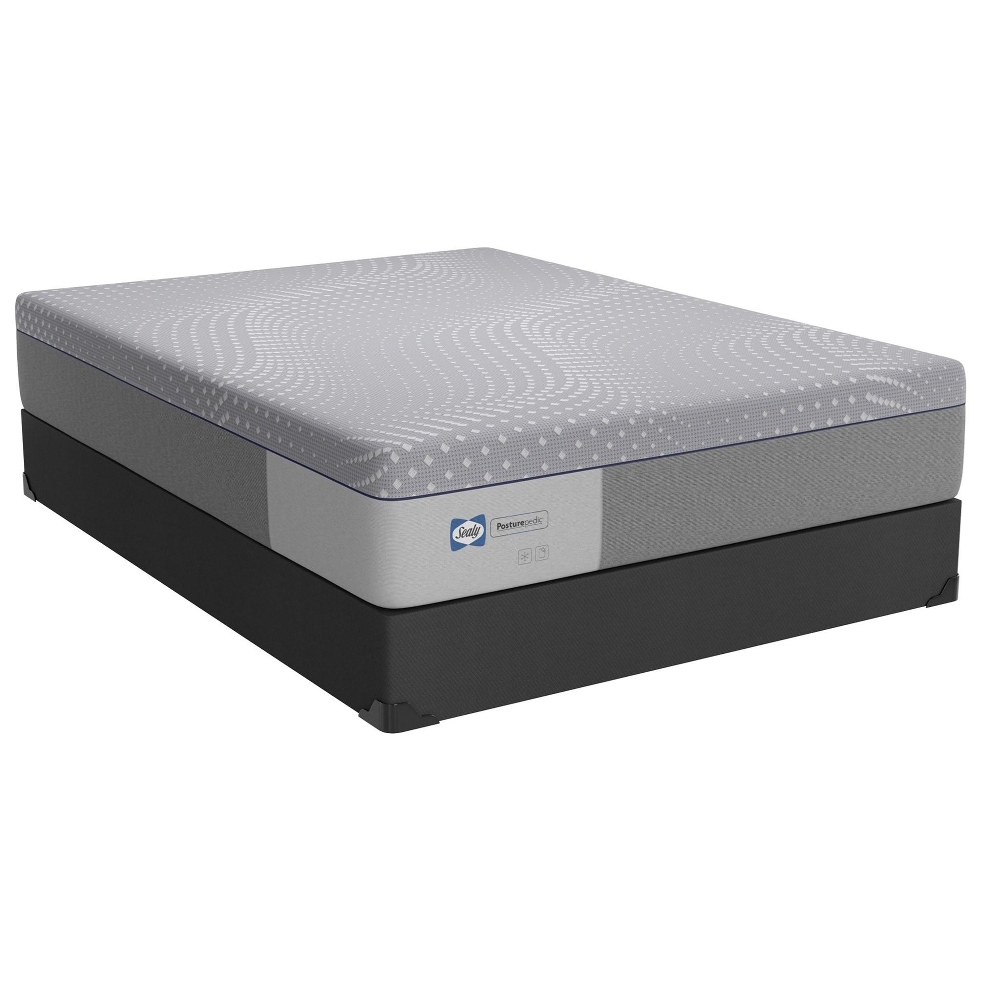 "PPF5 Posturpedic Foam Soft Full 13"" Soft Gel Memory Foam LP Set by Sealy at Sprintz Furniture"