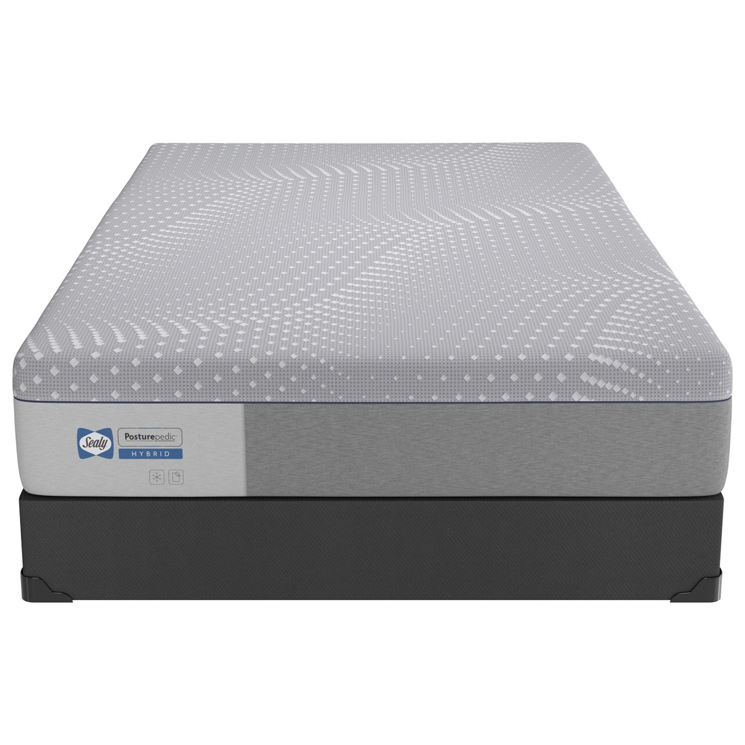 Sealy Hybrid TwinXL Lacey Soft+Standard Base by Sealy at Crowley Furniture & Mattress