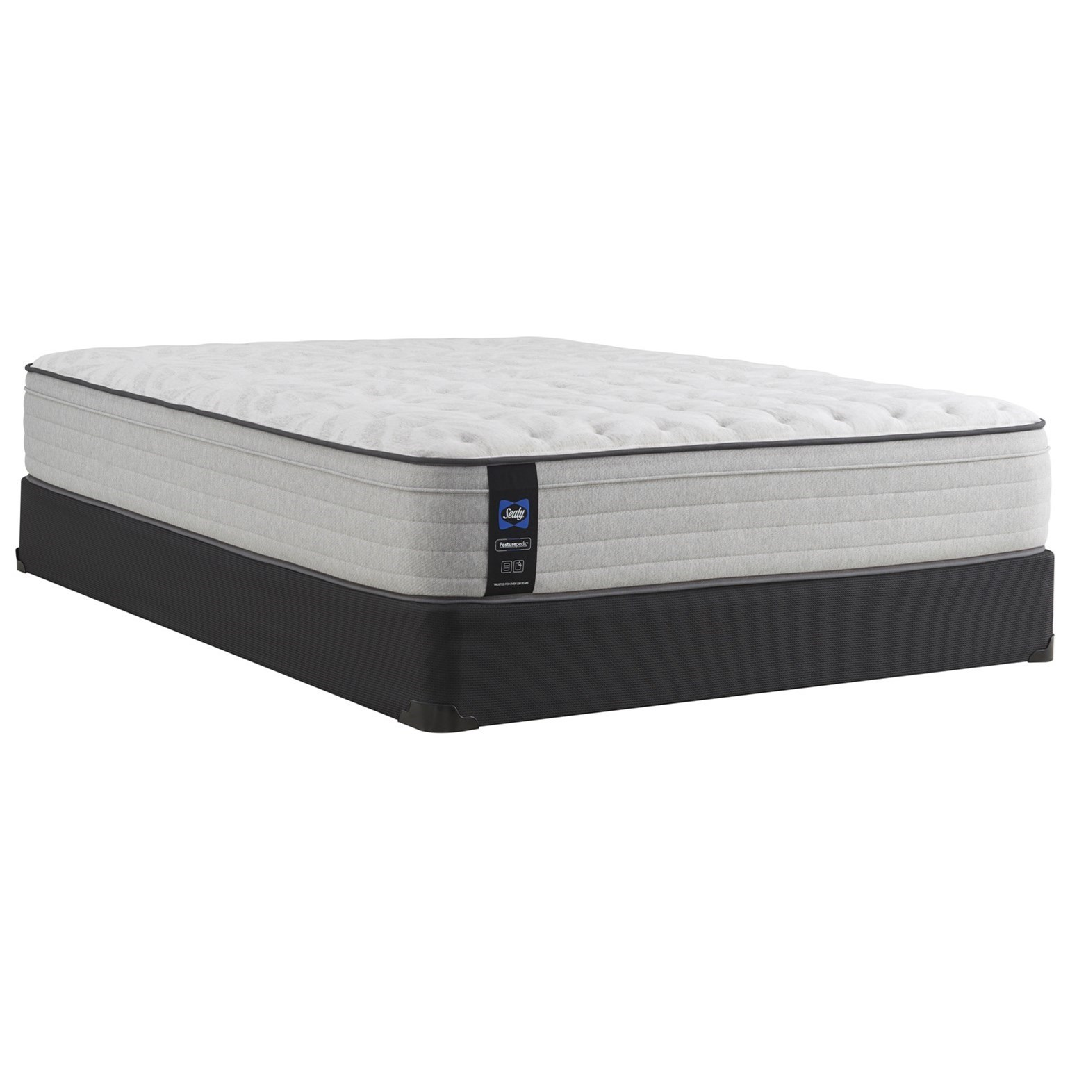 "PPS3 Posturpedic Innerspring Firm FXET Full 13"" Firm FXET Mattress Set by Sealy at Prime Brothers Furniture"