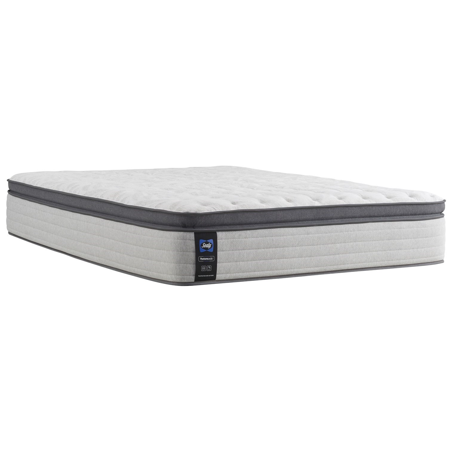 "Cal King 14"" Soft Euro Pillow Top Mattress"