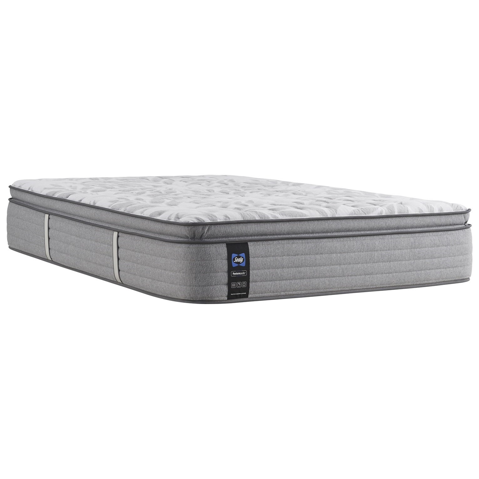 "PPS5 Posturpedic Innerspring Med EPT Queen 15"" Medium Euro Pillow Top Mattress by Sealy at Prime Brothers Furniture"