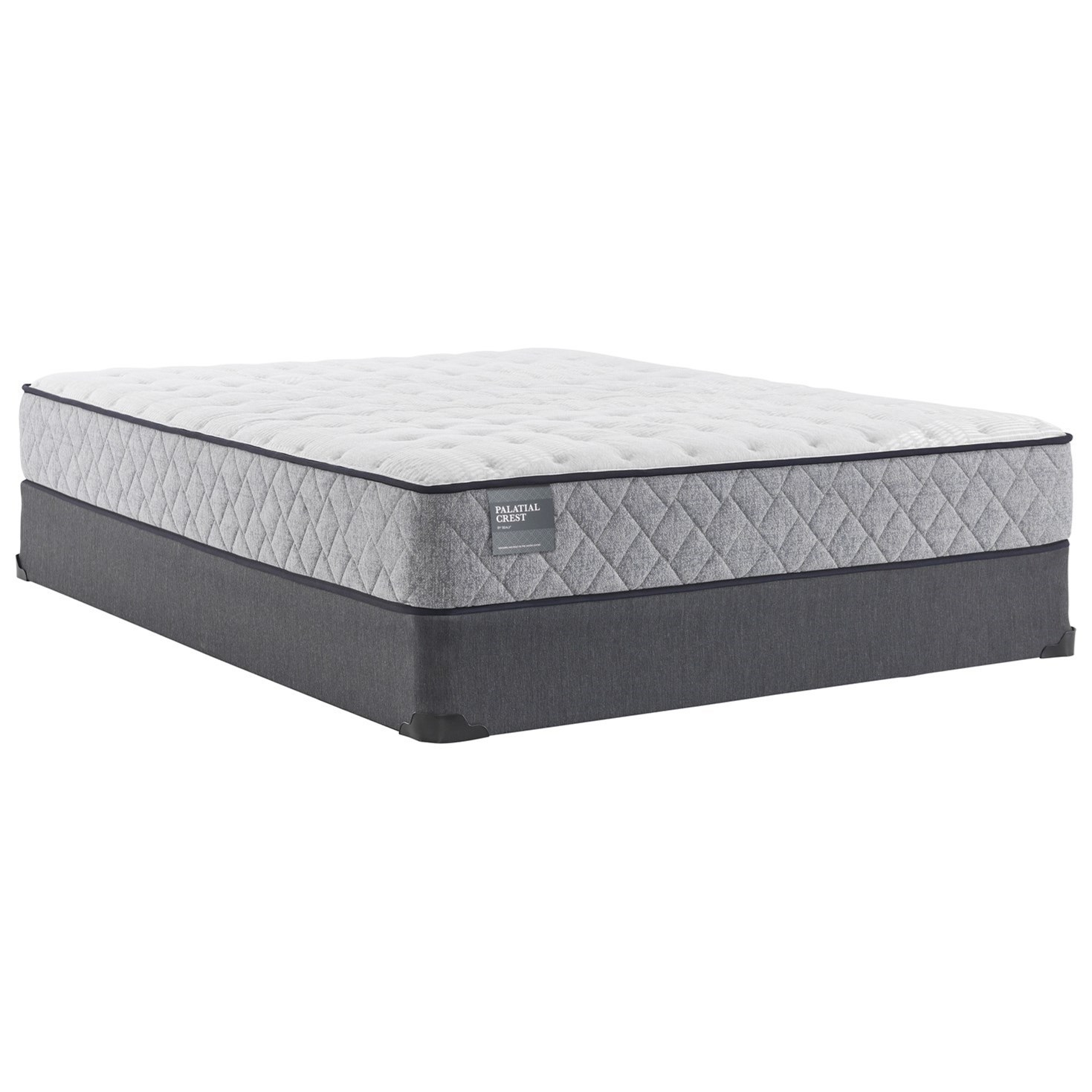 "Queens Guard Firm TT B2 Twin 10"" Firm Innerspring Mattress Set by Sealy at Lagniappe Home Store"
