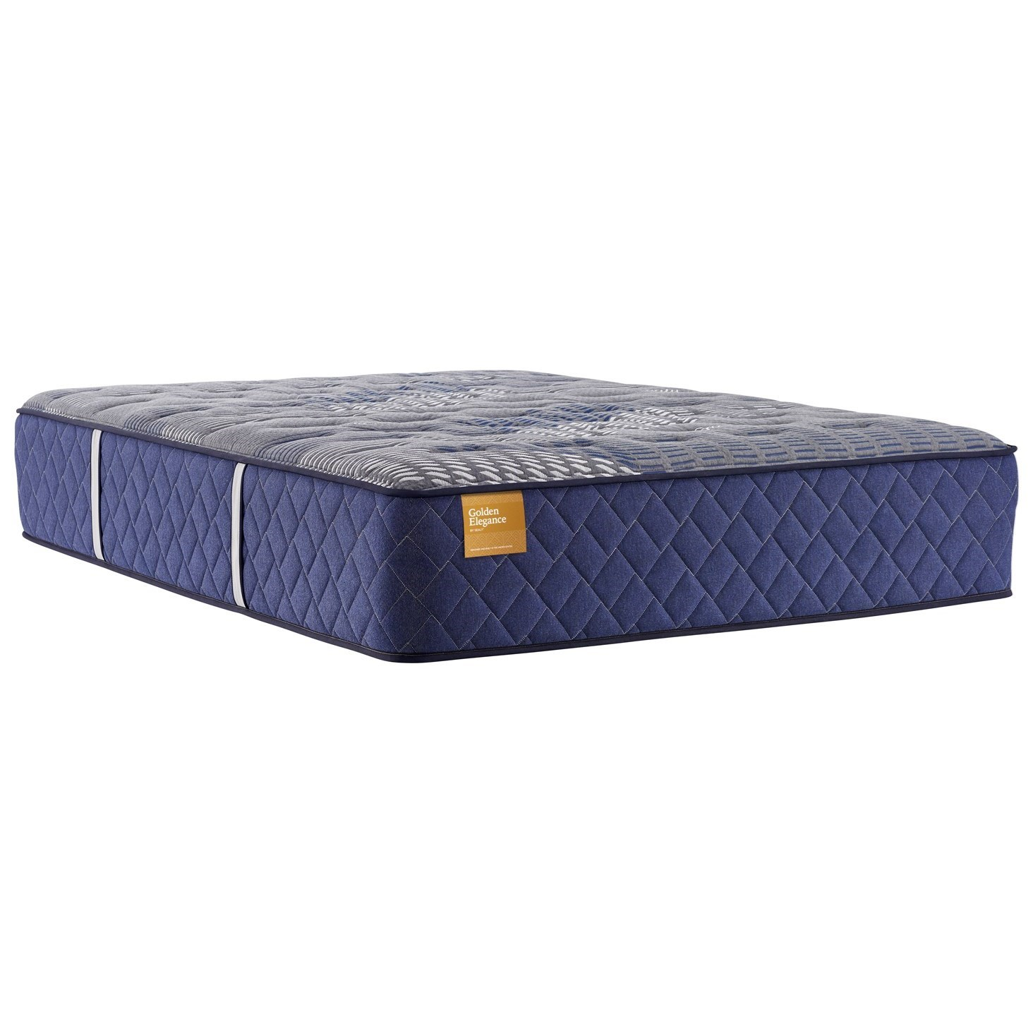 "Rose Gold Firm Hybrid TT B8 Queen 15"" Firm Hybrid Mattress by Sealy at Household Furniture"