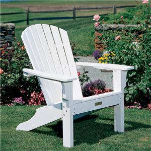 Seaside Casual Adirondack Shellback Chair