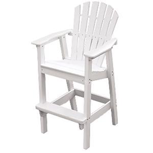 Seaside Casual Adirondack Shellback Bar Chair