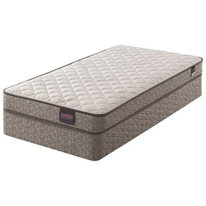 """Twin Firm Innerspring Mattress and 9"""" Steel Boxspring"""