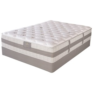 King Plush Hybrid Mattress and Motion Perfect III Adjustable Base