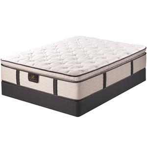 Serta Bellagio at Home Monte Lago II Cal King Super Pillow Top Mattress Set