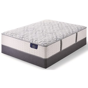 Queen Extra Firm Pocketed Coil Mattress and Bellagio Boxspring