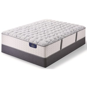 Queen Luxury Firm Pocketed Coil Mattress and Low Profile Bellagio Boxspring