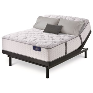 King Plush Pocketed Coil Mattress and Motion Essentials III Adjustable Base