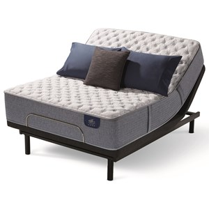 Queen Extra Firm Hybrid Mattress and Motion Essentials III Adjustable Base