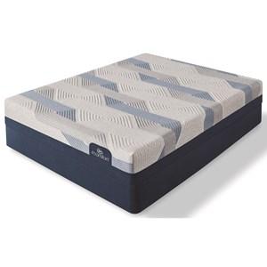 """Queen Gentle Firm Gel Memory Foam Mattress and Standard Base 9"""" Height"""
