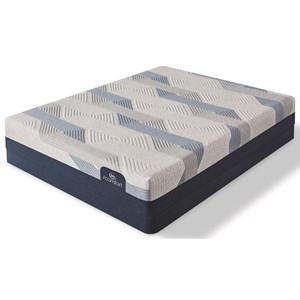 "Full Plush Memory Foam Mattress and Standard Base 9"" Height"