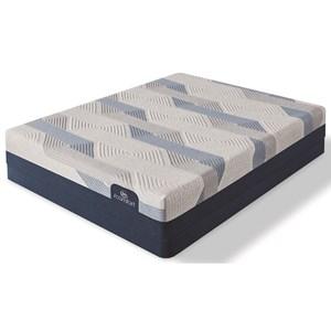 "Cal King Plush Memory Foam Mattress and 5"" Low Profile Foundation"