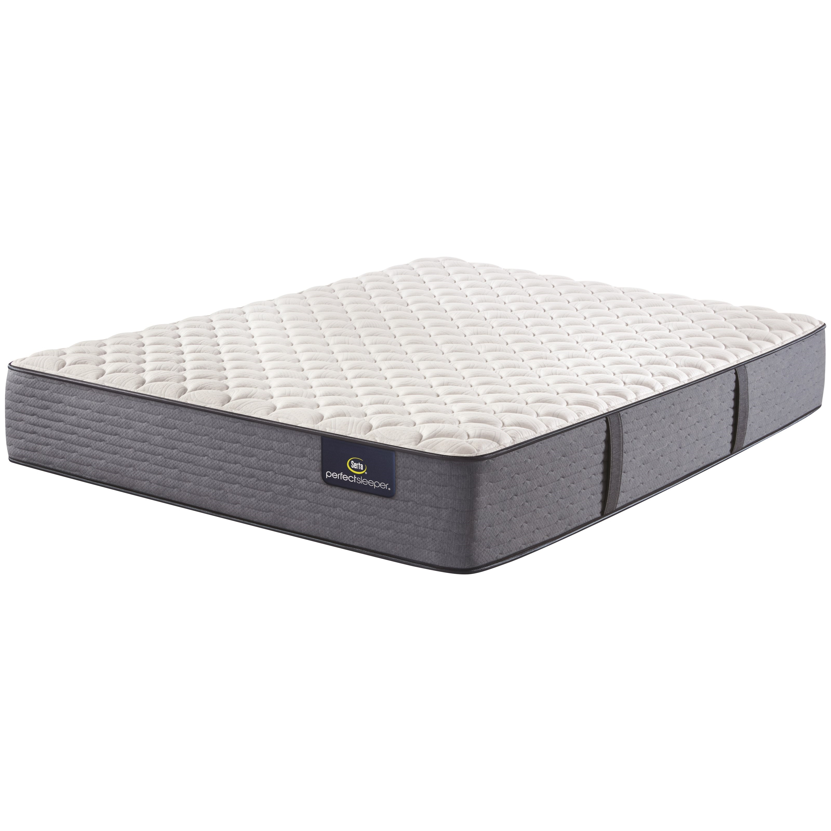 """Cozy Escape Firm Queen 12"""" Firm Mattress by Serta at Darvin Furniture"""