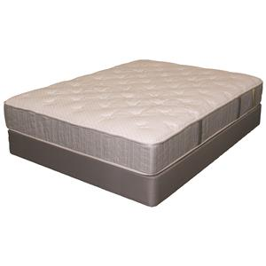Twin Extra Long Plush Mattress and Box Spring