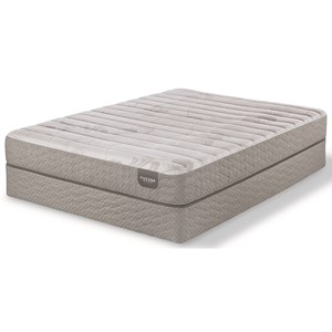 """Twin Extra Long Cushion Firm Memory Foam Mattress and 9"""" Foundation"""