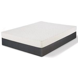 "Cal King Memory Foam Mattress and 9"" Regular iAmerica Box"
