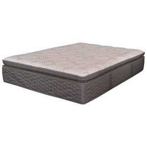 King Euro Pillow Top Pocketed Coil Mattress