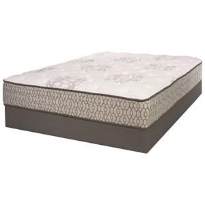 Twin Cushion Firm Mattress and iAmerica Wood Foundation