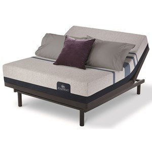 King Mattress and Divided King Motion Essentials III Adjustable Base