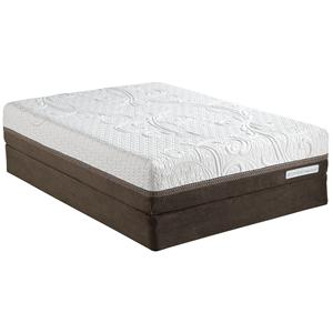 Serta iComfort Directions Acumen Cal King Plush Memory Foam Matt Set, Adj