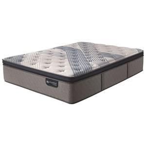 King Plush Pillow Top Hybrid Mattress