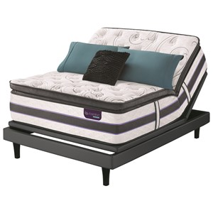King SmartSupport? SPT Mattress and Divided King Motionplus Adjustable Foundation