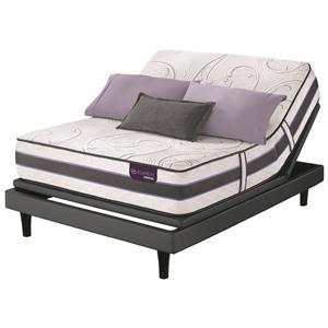 King SmartSupport™ Hybrid Mattress and Motion Perfect III Adjustable Base