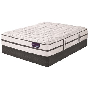 Serta iComfort Hybrid Vantage II Firm Queen Firm Hybrid Mattress Set