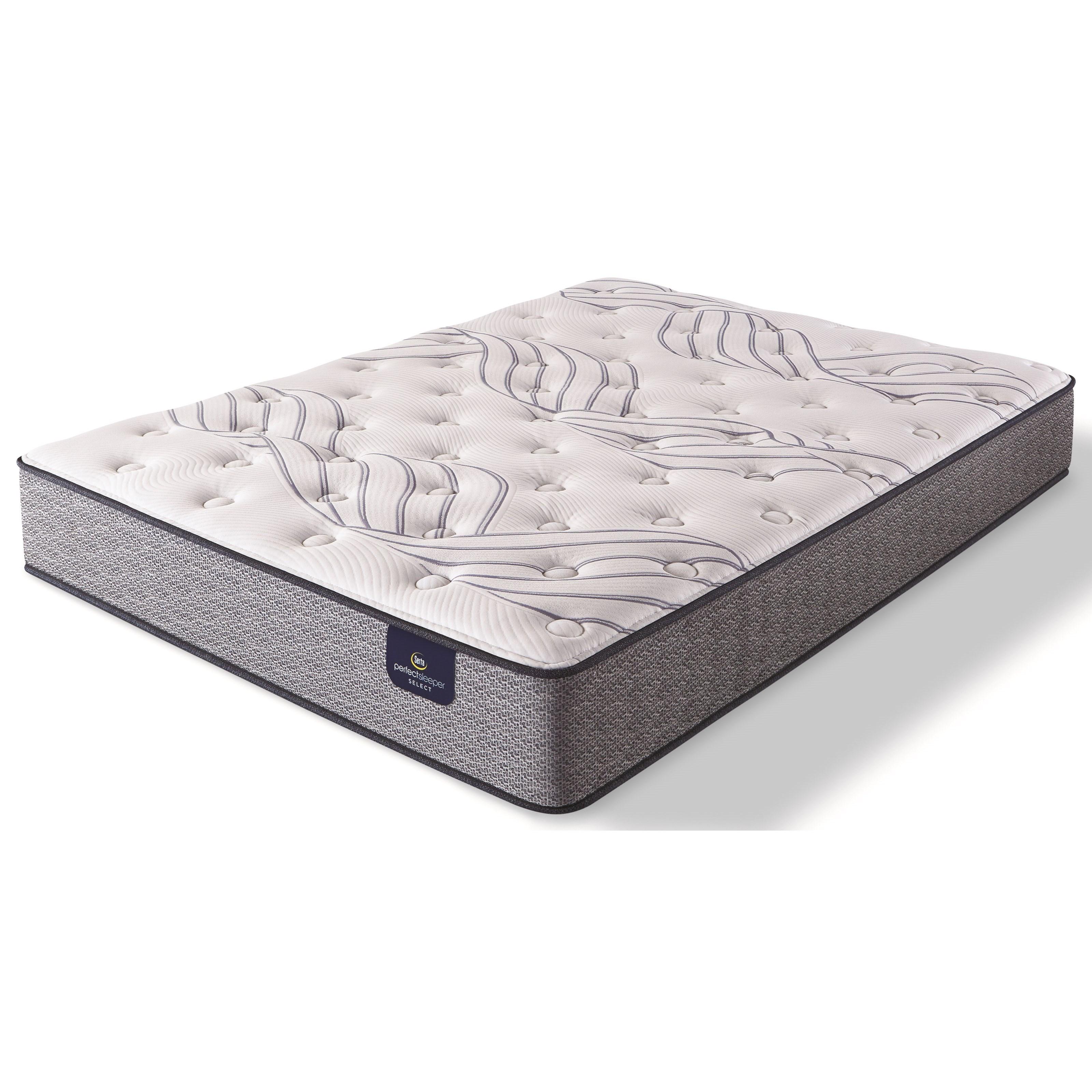 Kleinmon II Plush King Pocketed Coil Mattress by Serta at Darvin Furniture