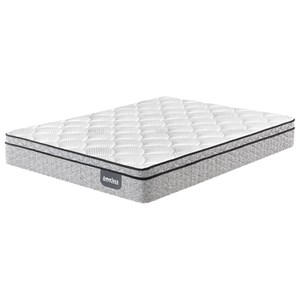 Twin Extra Long Plush Euro Top Innerspring Mattress